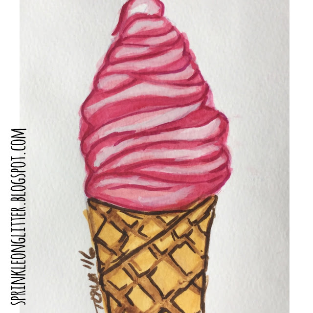 Sprinkle On Glitter Blog// Instagram Roundup// ice cream cone