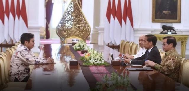 Jokowi dan CEO Bukalapak Adu Data Soal Dana Riset Indonesia