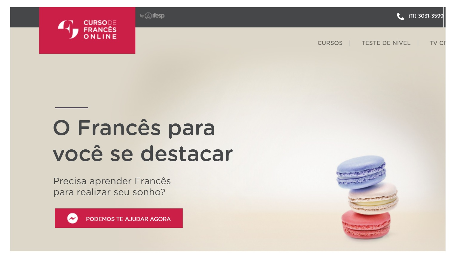 CFOL Curso de Francês online