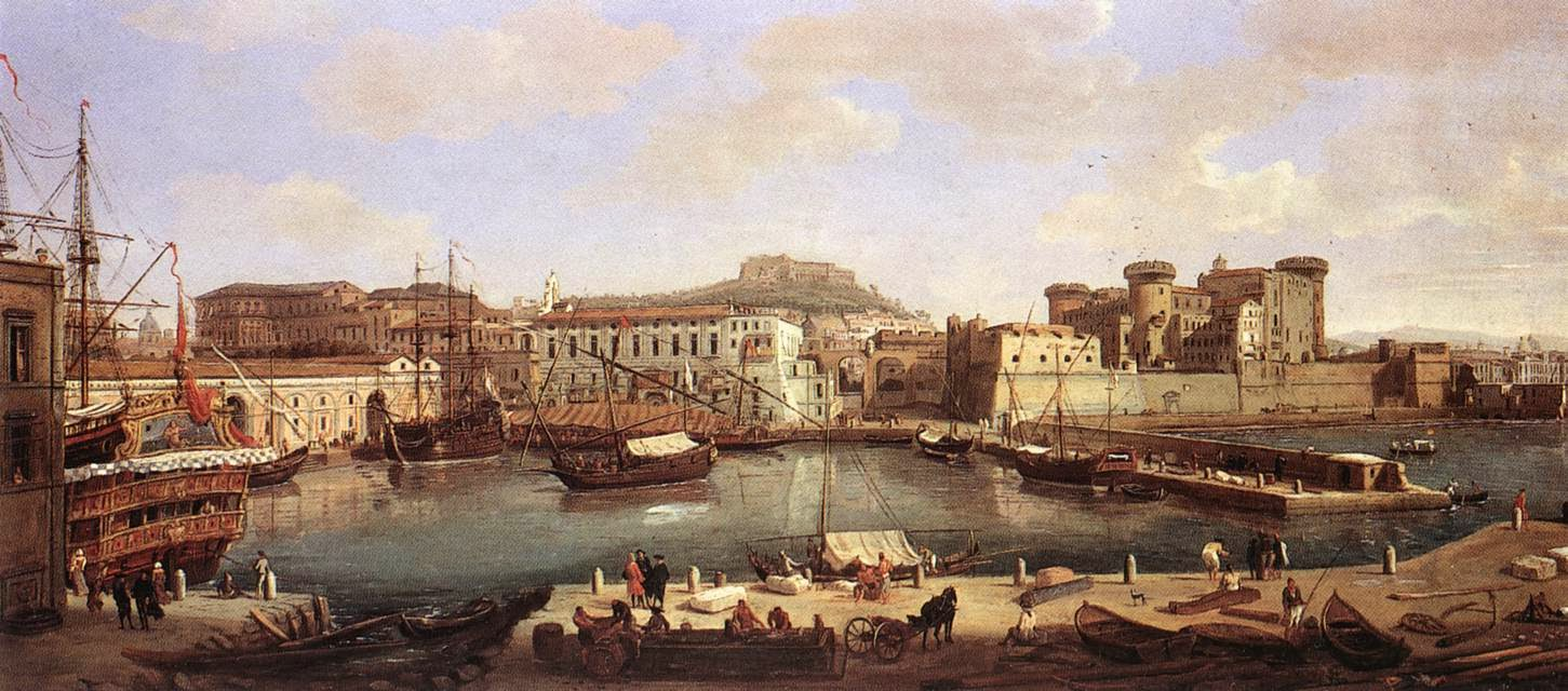 Art Now And Then Renaissance Cities Naples