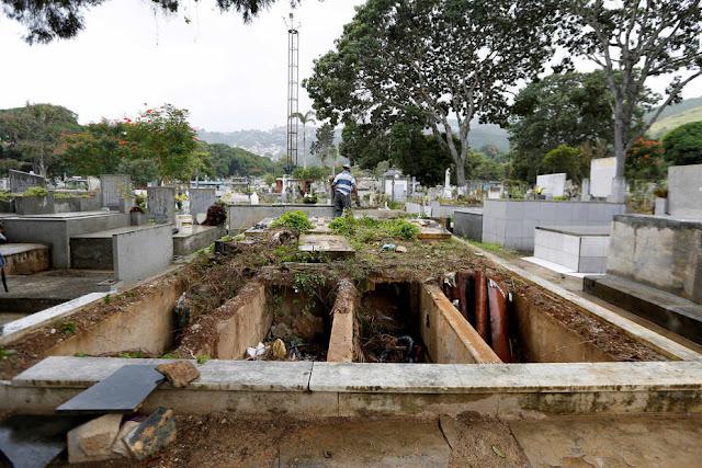 Arrecia profanación en el Cementerio General del Sur