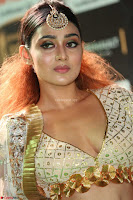 Apoorva Spicy Pics in Cream Deep Neck Choli Ghagra WOW at IIFA Utsavam Awards 2017 18.JPG