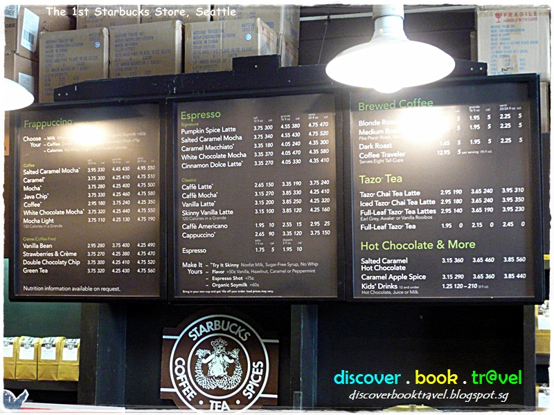 The Original Starbucks Store At Seattle Discover Book