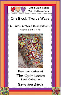 One quilt block made twelve ways