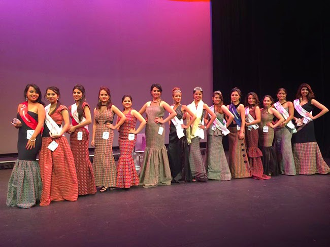 miss nepal usa 2014 contestants  photo