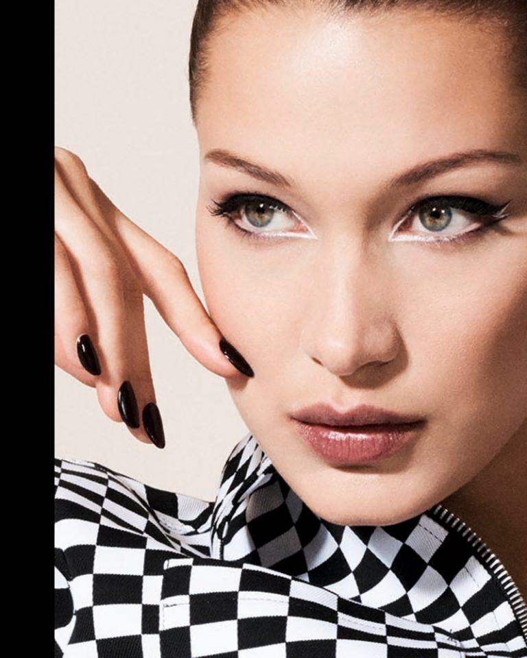 Bella Hadid turns up the glam factor for the September 2018 issue of Vogue China