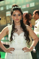 Meghana Gaur in a Deep Neck Sleeveless White Gown at IIFA Utsavam Awards 014.JPG