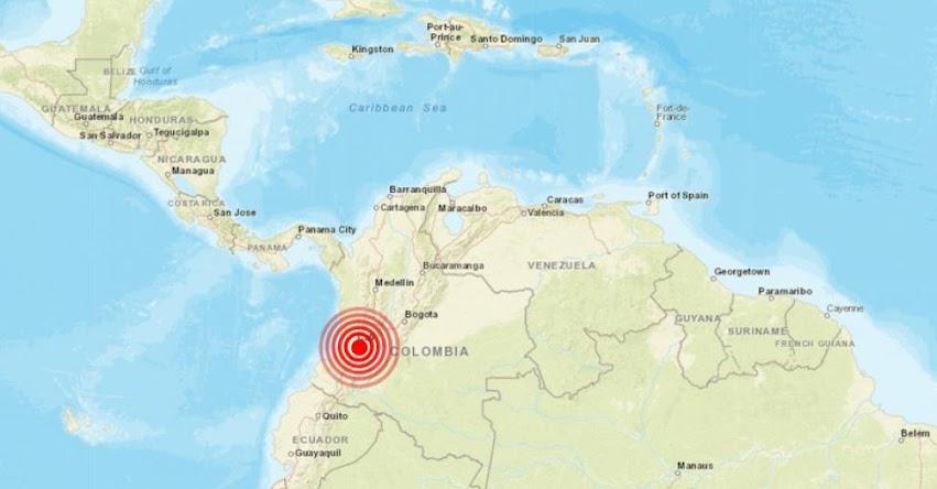 Temblor en Colombia de Magnitud 5.4 grados (Hoy Sábado 26 Enero 2019) Sismo Terremoto Epicentro - Bogotá - Armenia - Manizales - Cauca - En Vivo Twitter - Facebook - www.sgc.gov.co
