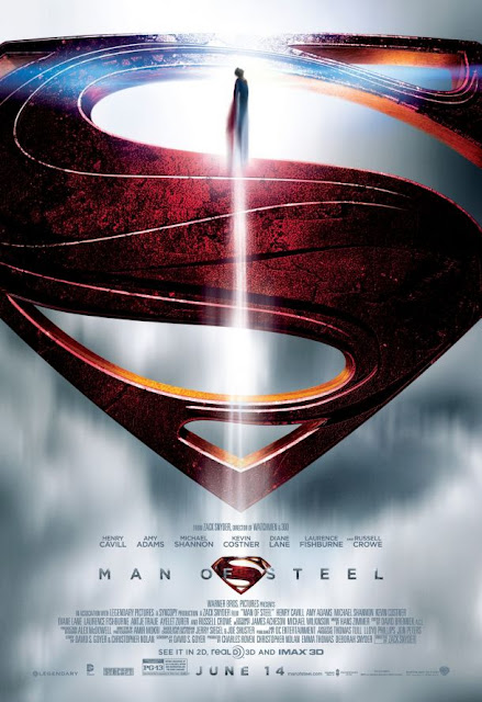 Man of Steel, Directed by Zack Synder, starring Henry Cavill as Superman aka Clark Kent, Amy Adams as Lois Lane