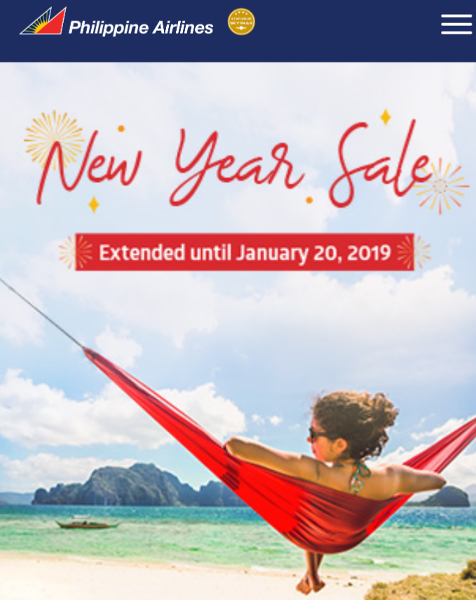 99php and 79USD Philippine Airlines - PAL Airfare Sale Extended