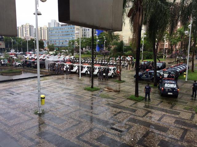 Tem início á operação Força Total em Santo André