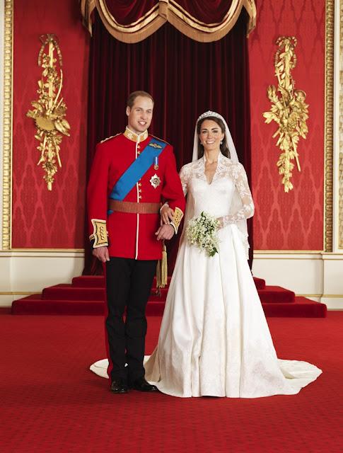 Projeto Vestido de Noiva: Casamento Real: as fotos oficiais