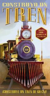 Construyo un tren con Larousse
