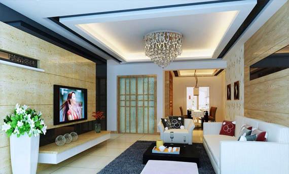 Lampu Gantung Plafon Ruang Tamu Mewah