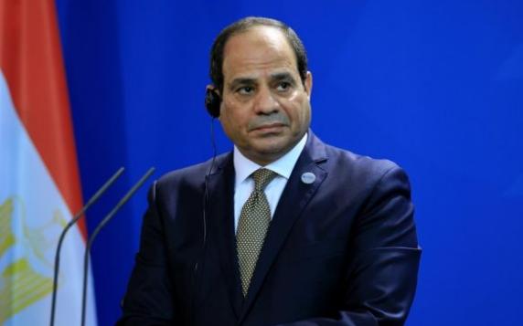 """السيسي،  مصر تتعاون مع إسرائيل للقضاء على """"الإرهابيين"""" في شبه جزيرة سيناء."""