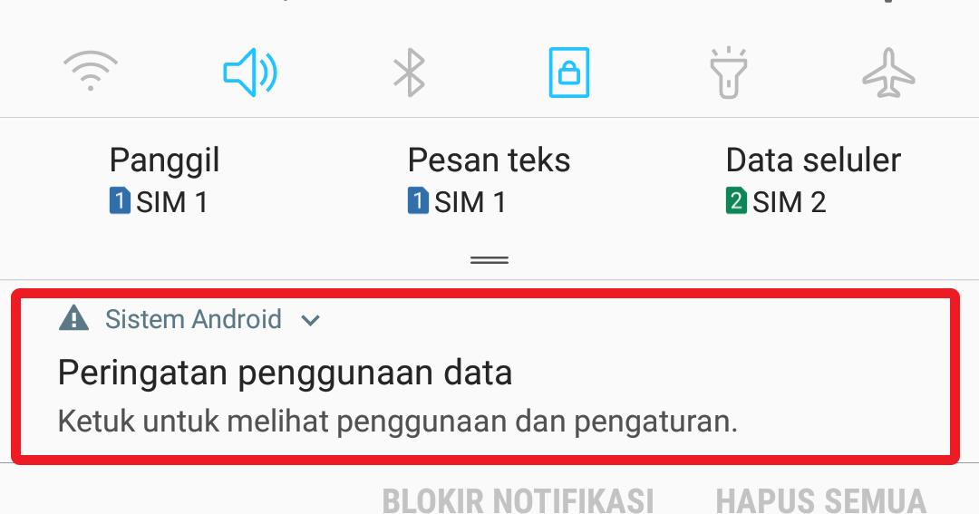 Cara Menghilangkan Peringatan Penggunaan Data Di Samsung Espada Blog