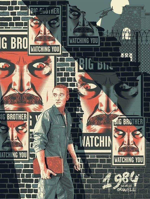 a literary analysis of the big brother in 1984 by george orwell George orwell's 1984 among the literary traditions that orwell uses is the concept of utopia by making big brother so easily recognizable.