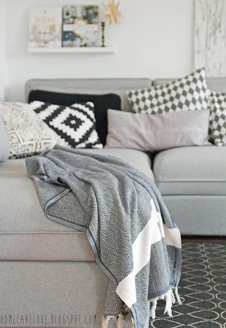 Ikeasofa, neues Sofa von Ikea, Vallentuna von Ikea, Sofa in grau, skandinavisch wohnen