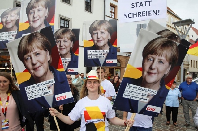 Germany goes to the polls: Angela Merkel's party will win but lose seats - Germany election 2017