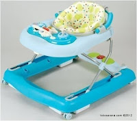 Care CW1032 3 in One Walker, Walk Behind and Musical Jumper - Blue