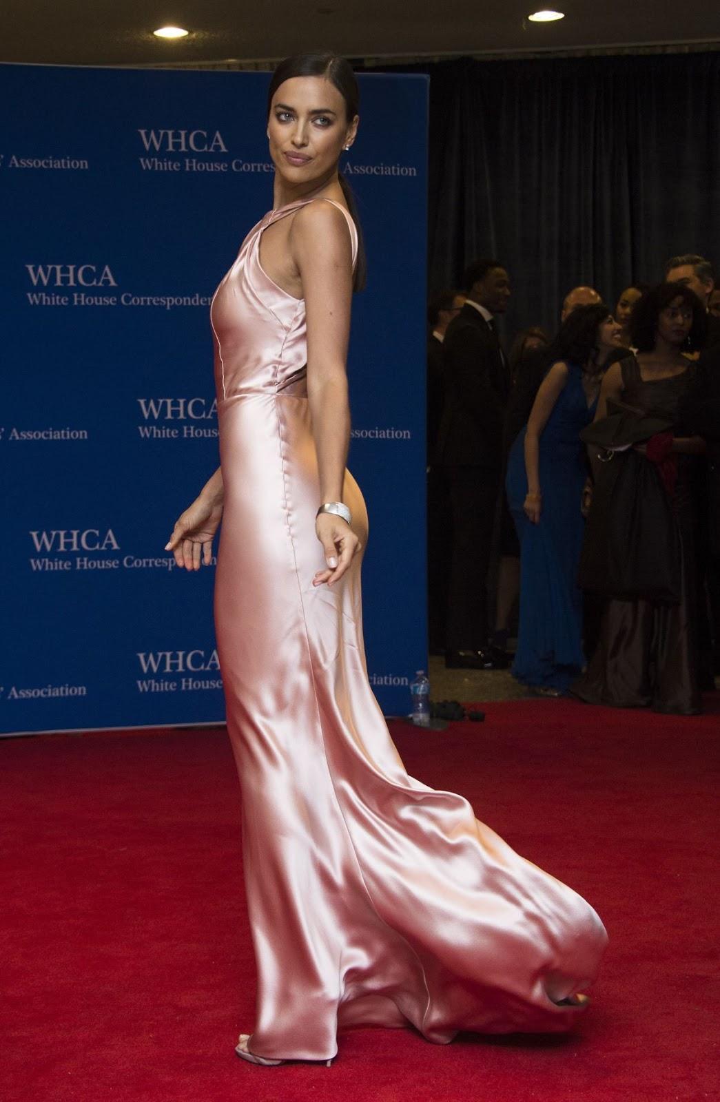 HQ Photos of Irina Shayk Looks Beyond Gorgeous at White House Correspondents' Dinner 2015