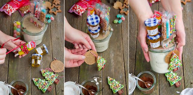 jak zrobić pierniki na choinkę w słoiku przepis na pierniczki prezent diy dla rodziny