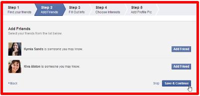 Facebook New Account Open