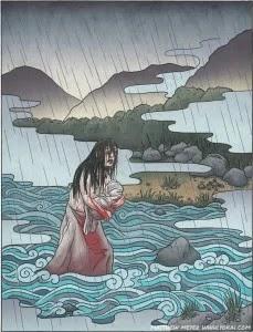cerita rakyat Jepang, Ubume