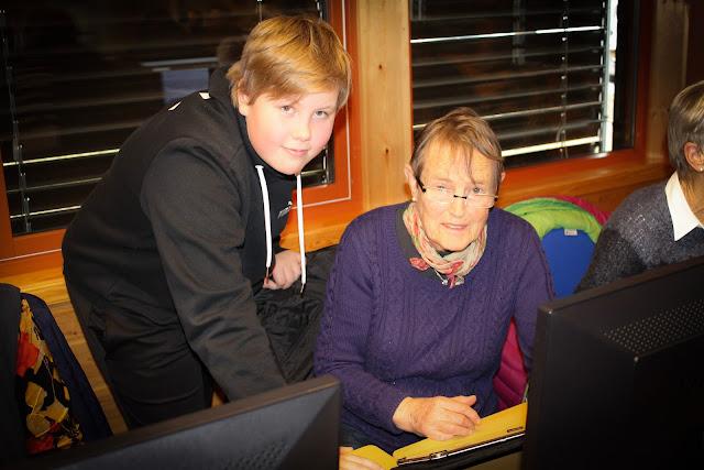 Seniorsurfdagen 2017 i Skjåk. På bildet: Lars Erik Kvisdal og Eldrid Tengesdal