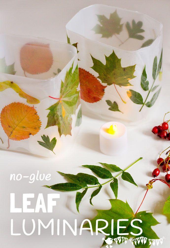 diy leaf