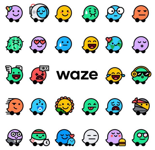 Waze actualiza estados de ánimo y colores en la ruta