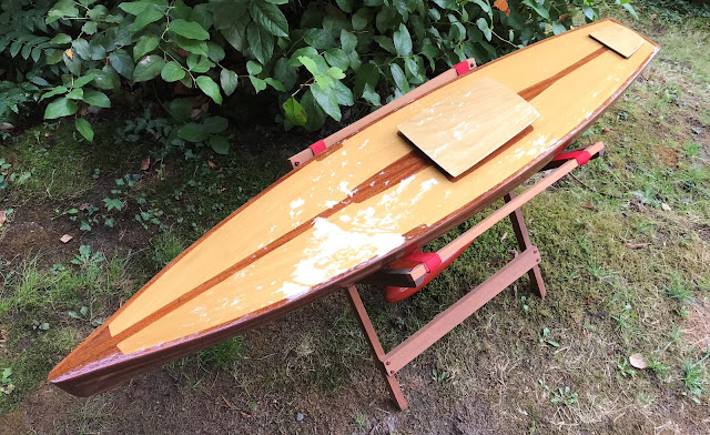 Vintage Marblehead Wooden RC Sailboat