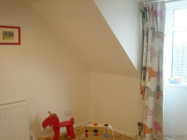 little boys room dala horse curtains our-handmade-home.com