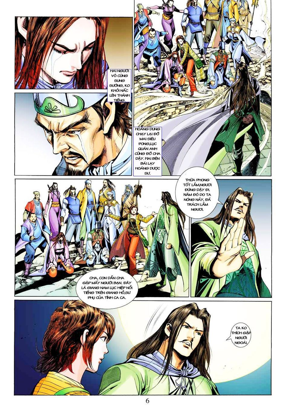 Anh Hùng Xạ Điêu anh hùng xạ đêu chap 33 trang 6