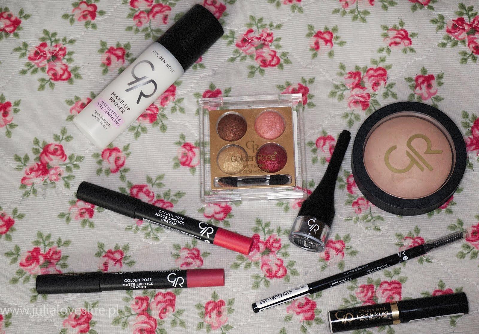 Wielki test kosmetyków Golden Rose | nowości i sprawdzone produkty | makijaż
