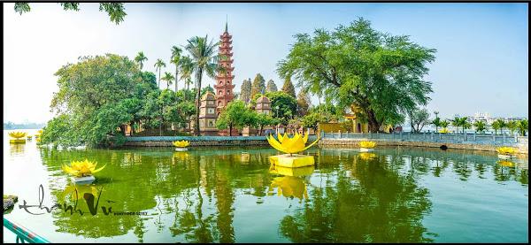 Chùa Trấn Quốc- ngôi chùa cổ nhất Hà nội