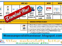 Download Aplikasi Rekap nilai Kurikulum 2013 SD,SMP DAN SMA dengan Format Excel