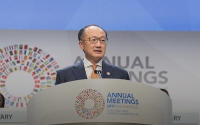 Jim Yong Kim: Perdagangan Mulai Naik, Tapi Investasi Tetap Lemah