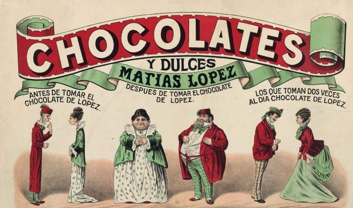 Cartel Chocolates Matías López
