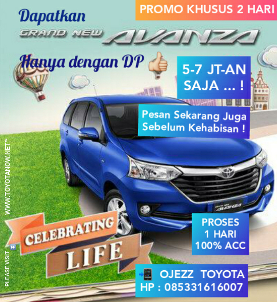Grand New Avanza Youtube Jual Bekas Di Depok Home I Toyotanow Net Ojezz Toyota 08533 1616 007 Termurah Prpromo Khusus 2 Hari Dp 5 7 Jt An Angsuran 3 Desember 2018