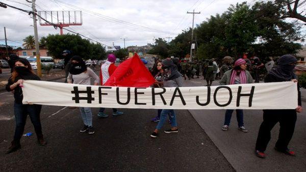 #Honduras. Protestan contra instalación del Parlamento