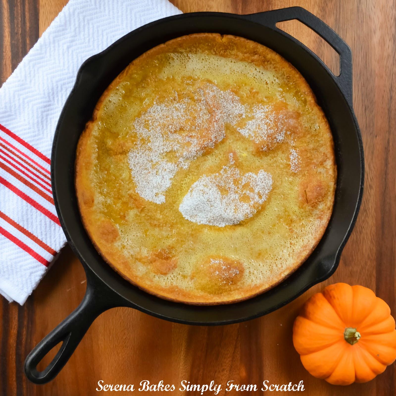 Pumpkin Puff Pancakes