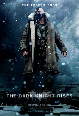 "The Dark Knight Rises ""The Legend Ends"" Character Movie Poster Set - Tom Hardy as Bane"