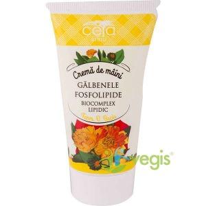 Crema de maini cu galbenele si fosfolipide