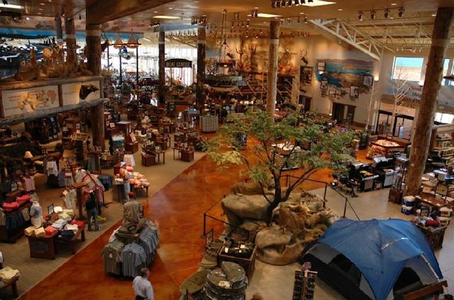 Compras de itens de pesca em Miami