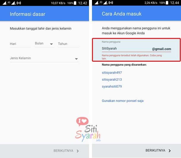 cara buat akun email baru di hp android