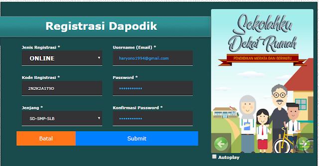 Fitur Terbaru Aplikasi Dapodik 2018.b