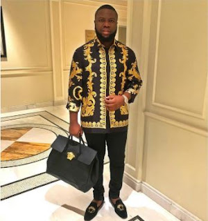 HushPuppi Removed By Bouncers At The One Africa Music Fest In Dubai (Video)