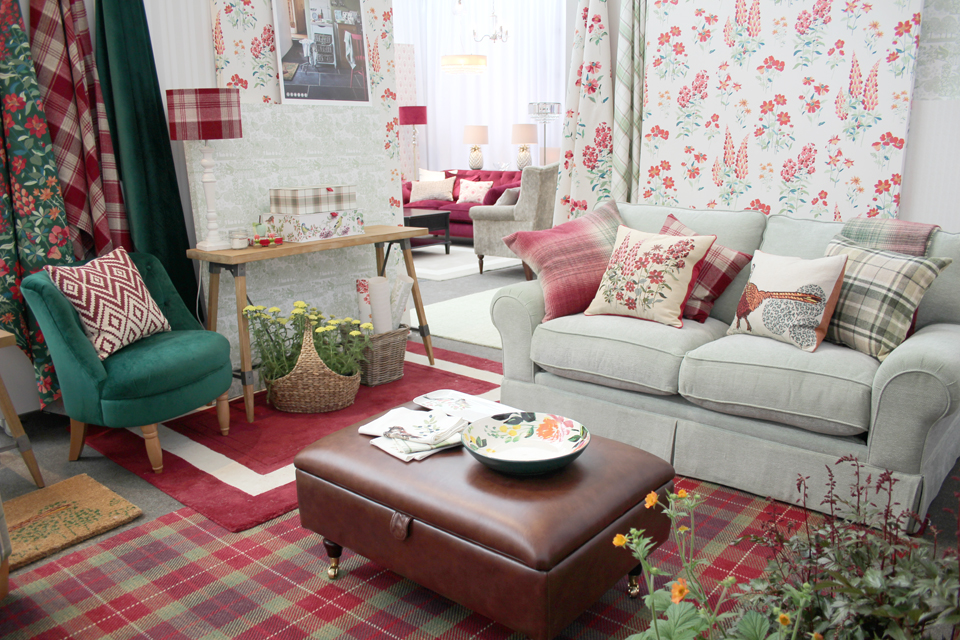I Loved The Pale Green Wood Block Style Pattern In The Woodland Walk  Collection. That Tartan Rug Is Fabulous Too. Part 53