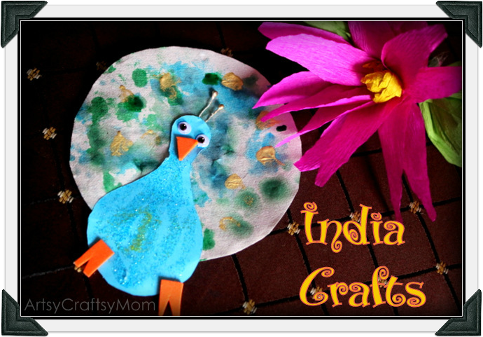 craft ideas for indian independence day india independence day special crafts paper peacock and 7577